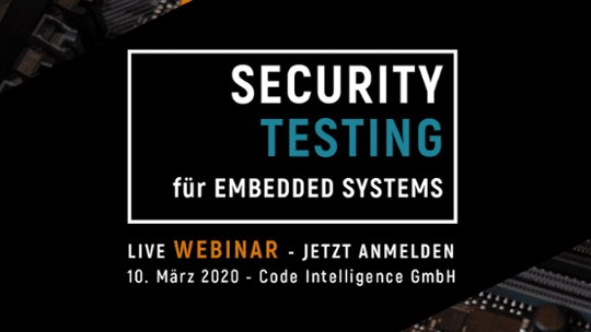 Security Testing for Embedded Systems