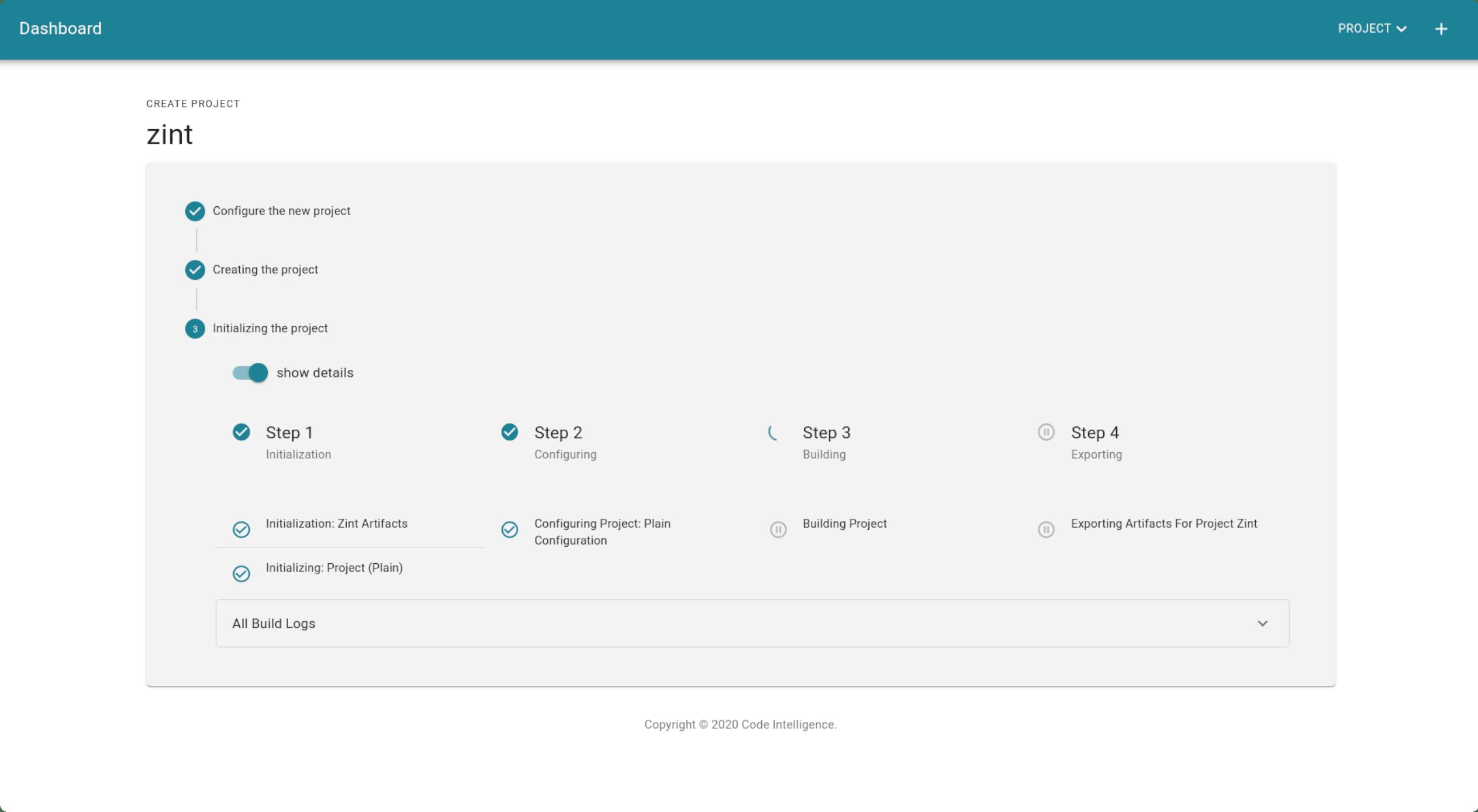 Screenshot CI Fuzz Fuzzing Setup